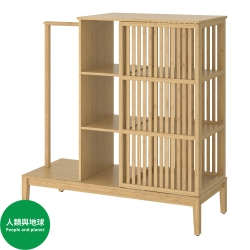 NORDKISA - 開放式趟門衣櫃 | IKEA 香港及澳門 - 10439477_S3