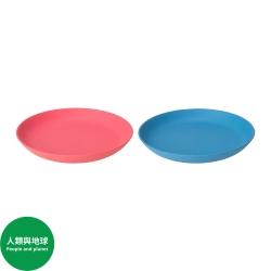 HEROISK - 餐用小碟, 藍色/淺紅色 | IKEA 香港及澳門 - 80421412_S3