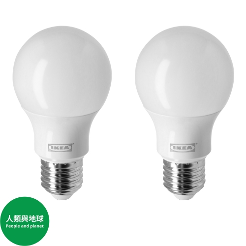 RYET - LED bulb E27 806 lumen, globe/opal white | IKEA Hong Kong and Macau - 30438721_S4