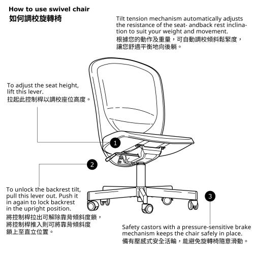 FLINTAN office chair