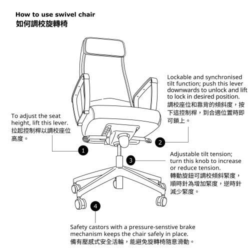 MARKUS - office chair, Vissle dark grey   IKEA Hong Kong and Macau - 50261151_S4