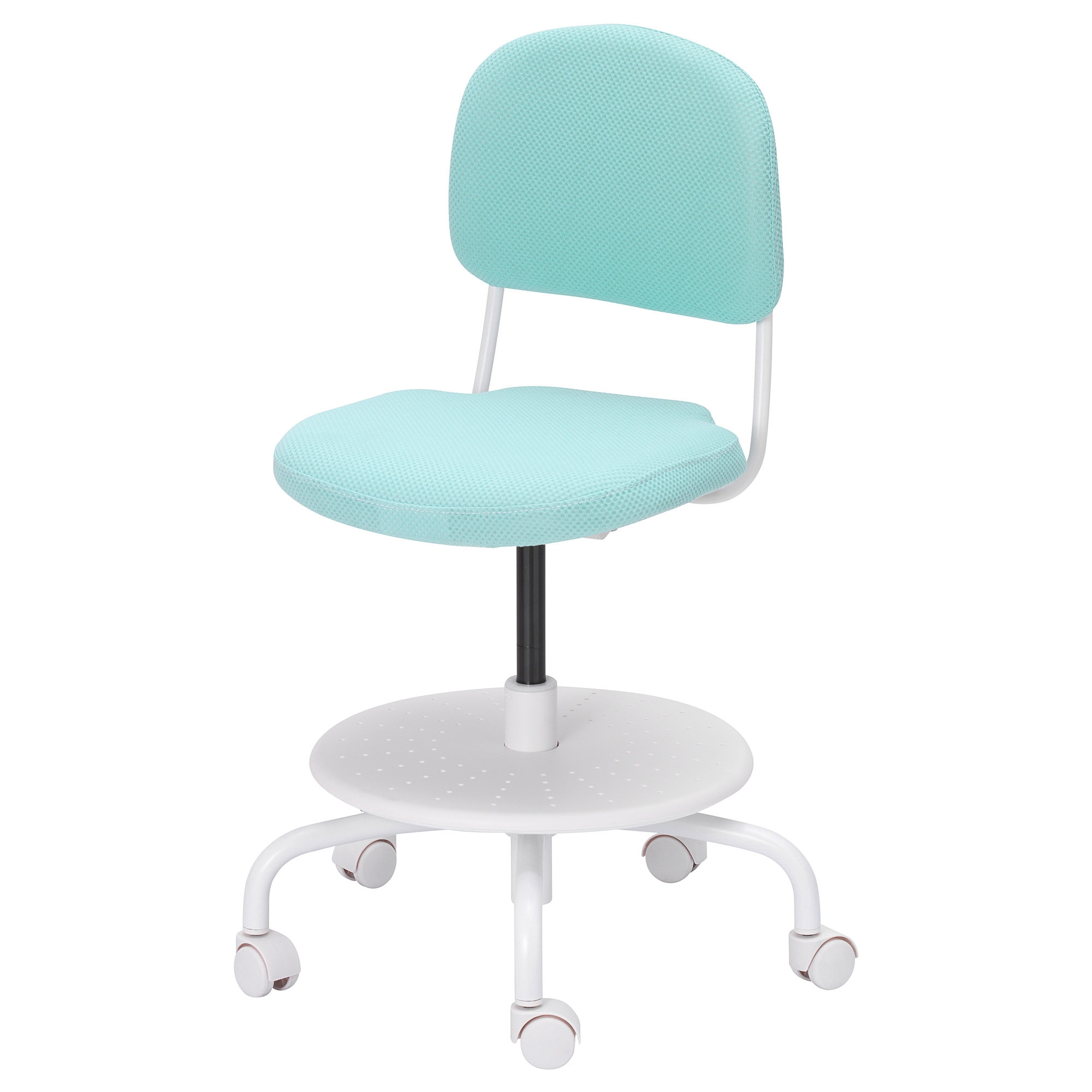Swivel chair teal