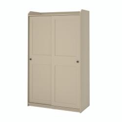 HAUGA - 趟門衣櫃, 米黃色 | IKEA 香港及澳門 - 10456914_S3
