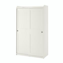 HAUGA - 趟門衣櫃, 白色 | IKEA 香港及澳門 - 40456917_S3