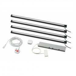 TRÅDFRI/SKYDRAG - Led櫃台板抽屜燈照明套装, 炭黑色 | IKEA 香港及澳門 - 29420326_S3