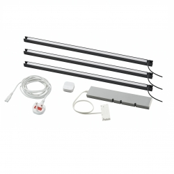 TRÅDFRI/SKYDRAG - Led櫃台板抽屜燈照明套装, 炭黑色 | IKEA 香港及澳門 - 59420358_S3
