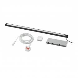 TRÅDFRI/SKYDRAG - Led櫃台板抽屜燈照明套装, 炭黑色 | IKEA 香港及澳門 - 69420225_S3