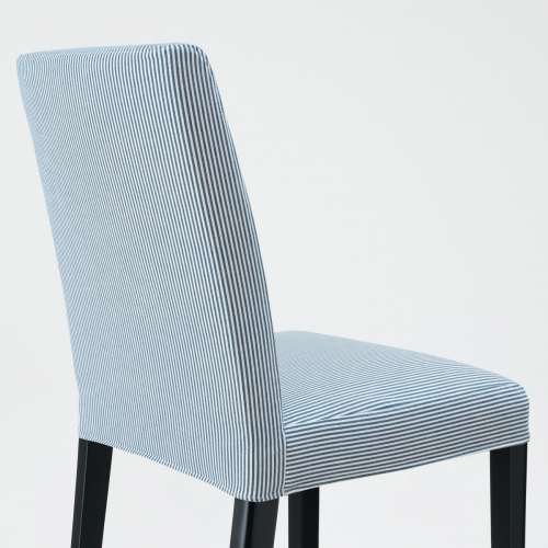 BERGMUND - chair, black/Rommele dark blue/white | IKEA Hong Kong and Macau - 59389980_S4