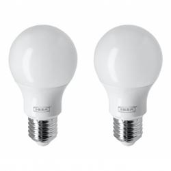RYET - LED 燈膽 E27 806流明, 球形/奶白色 | IKEA 香港及澳門 - 30438721_S3