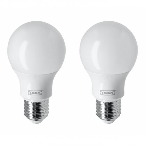 RYET - LED 燈膽 E27 806流明, 球形/奶白色   IKEA 香港及澳門 - 30438721_S4