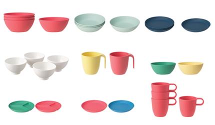 產品回收 - IKEA宜家家居回收HEROISK和TALRIKA系列碗、碟與杯子