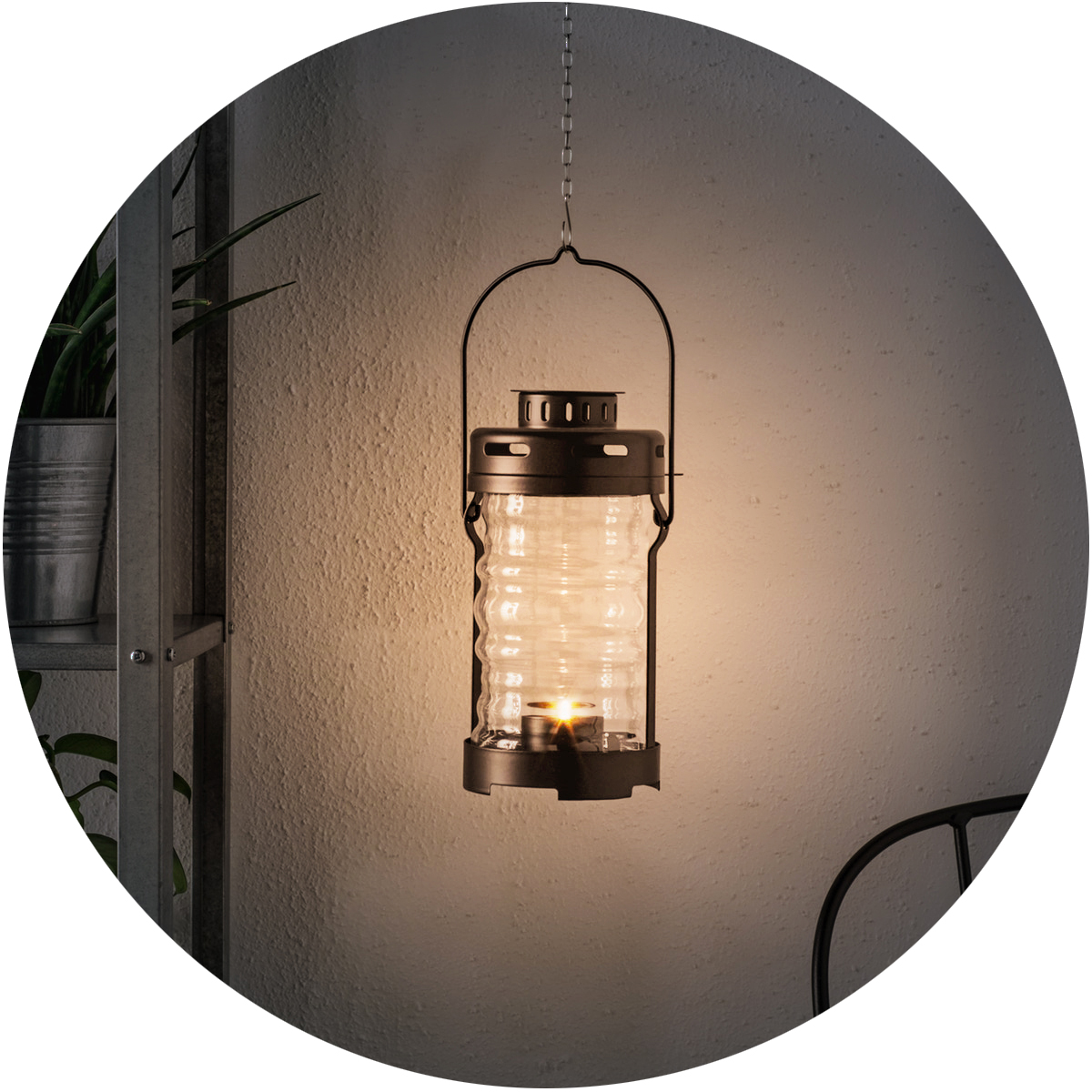 GLIMRANDE Lantern for tealight