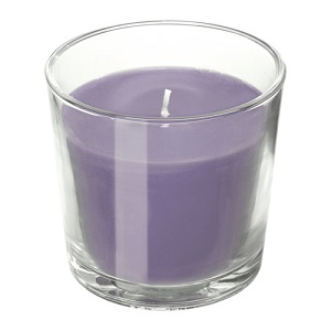 NJUTNING Scented candle in glass