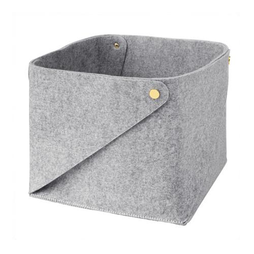 FÖRNYAD stool in beech/white color