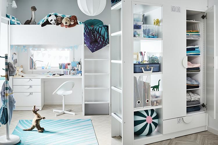 SMÅSTAD 糸列 兒童房設計