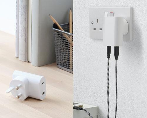 IKEA usb充電器