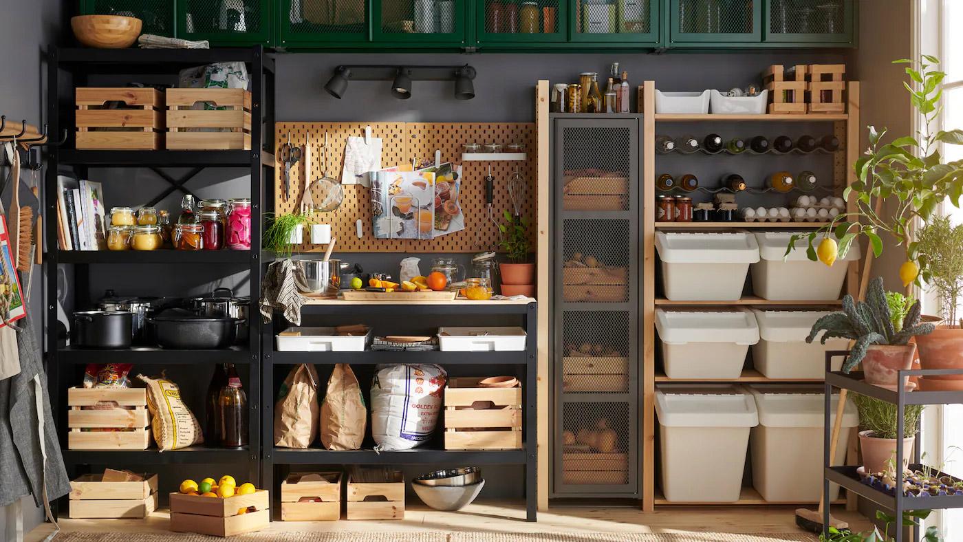 食物儲藏室的空間