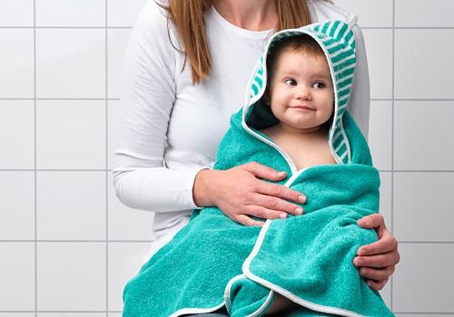 ikea  嬰兒毛巾