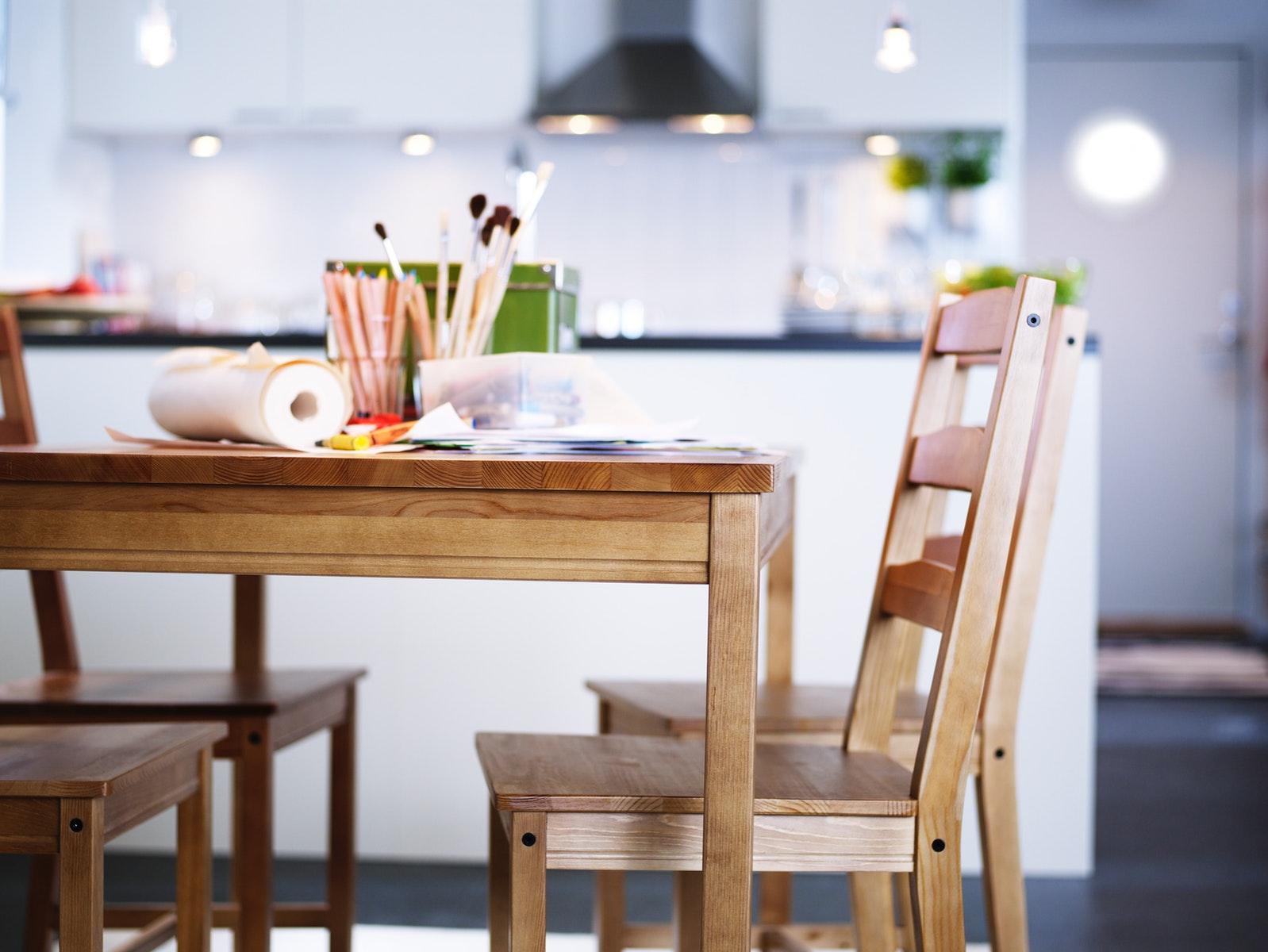 IKEA- JOKKMOKK-餐檯連椅組合