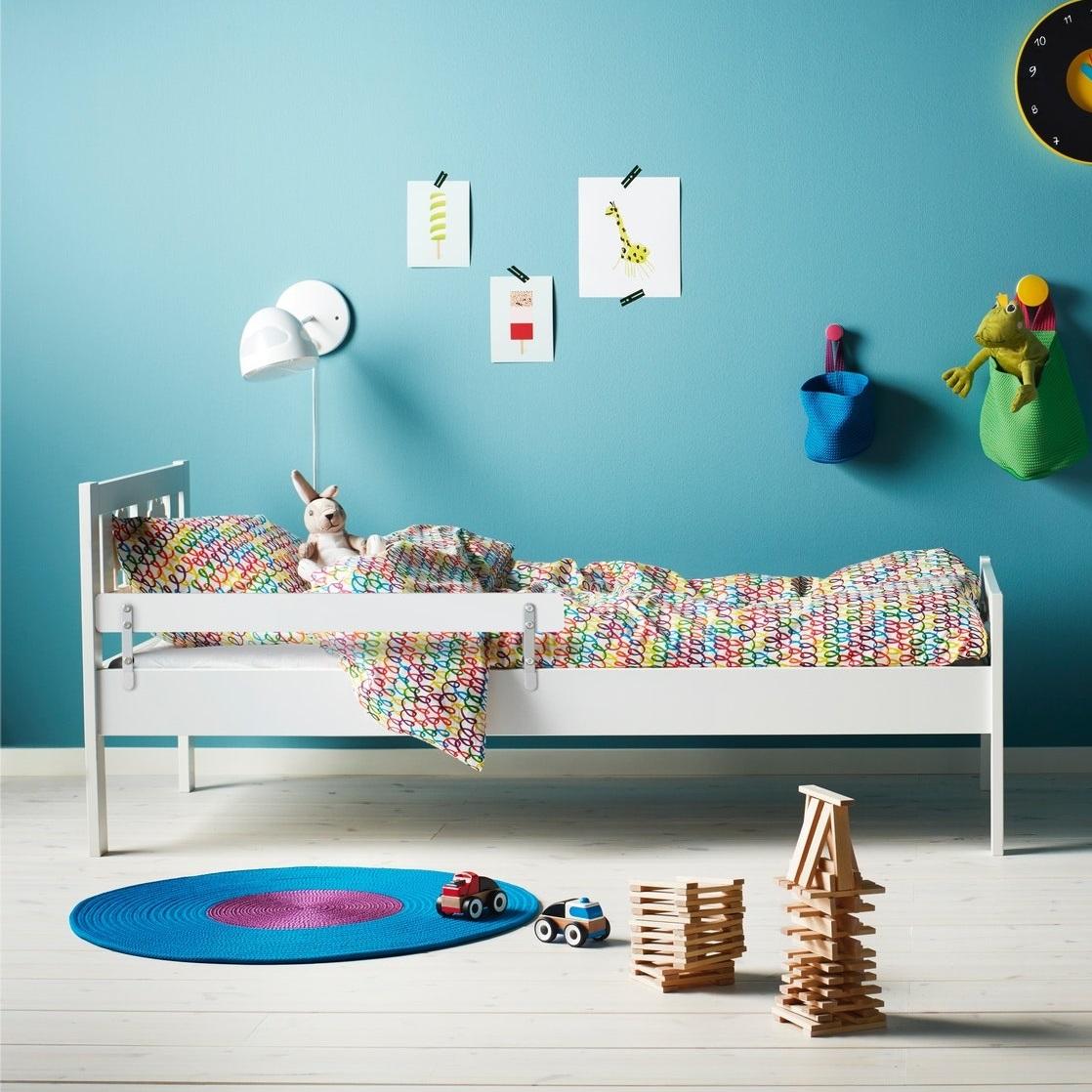 IKEA床架連床條板