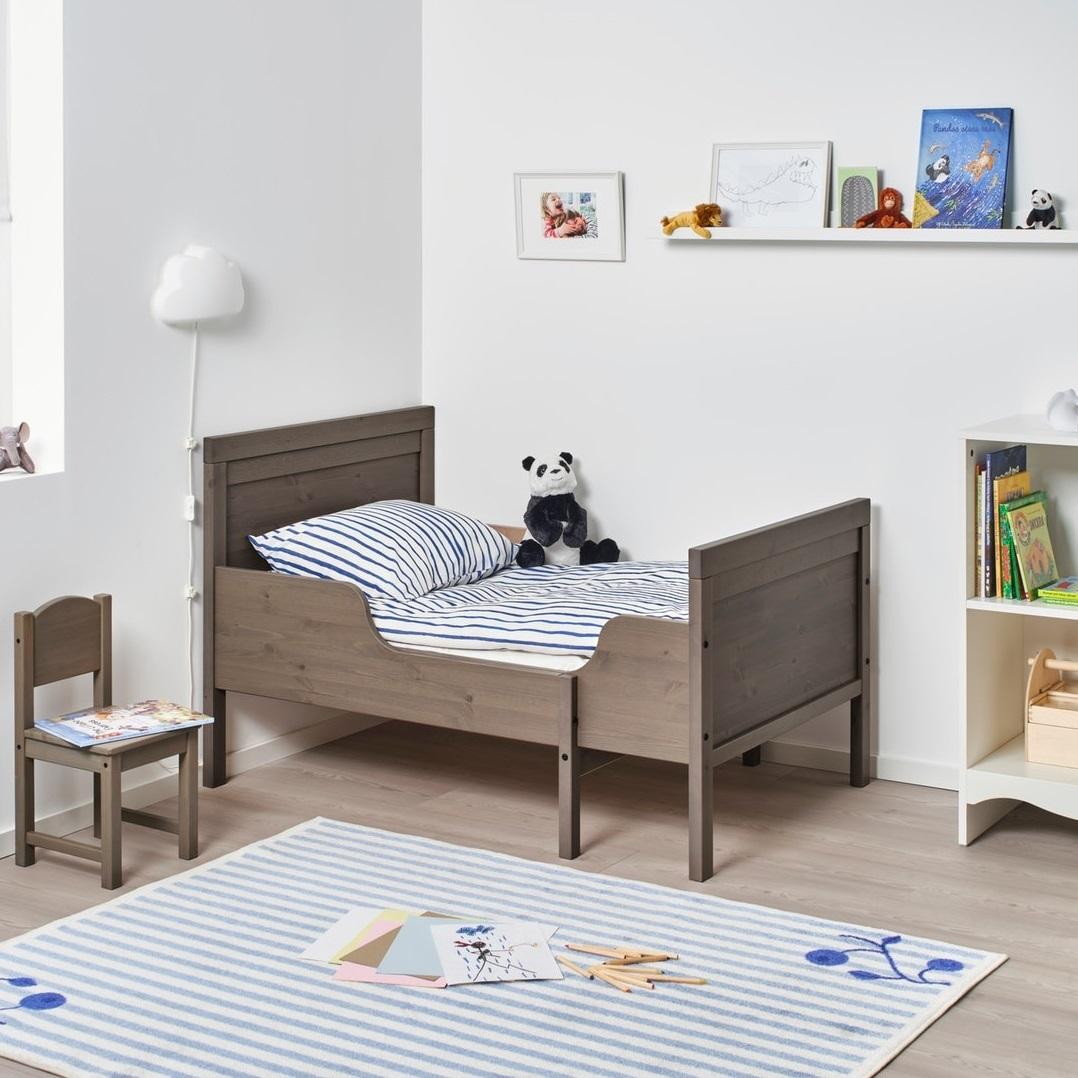 Ikea伸縮床架連床條板