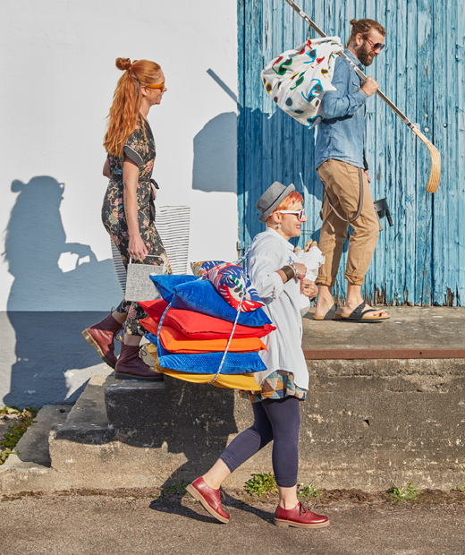 善用咕及彩色SOMMAR 2019布料,在戶外大開夏日野餐派對。