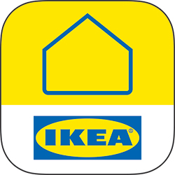 The IKEA Home smart logo for the IKEA Home smart app.
