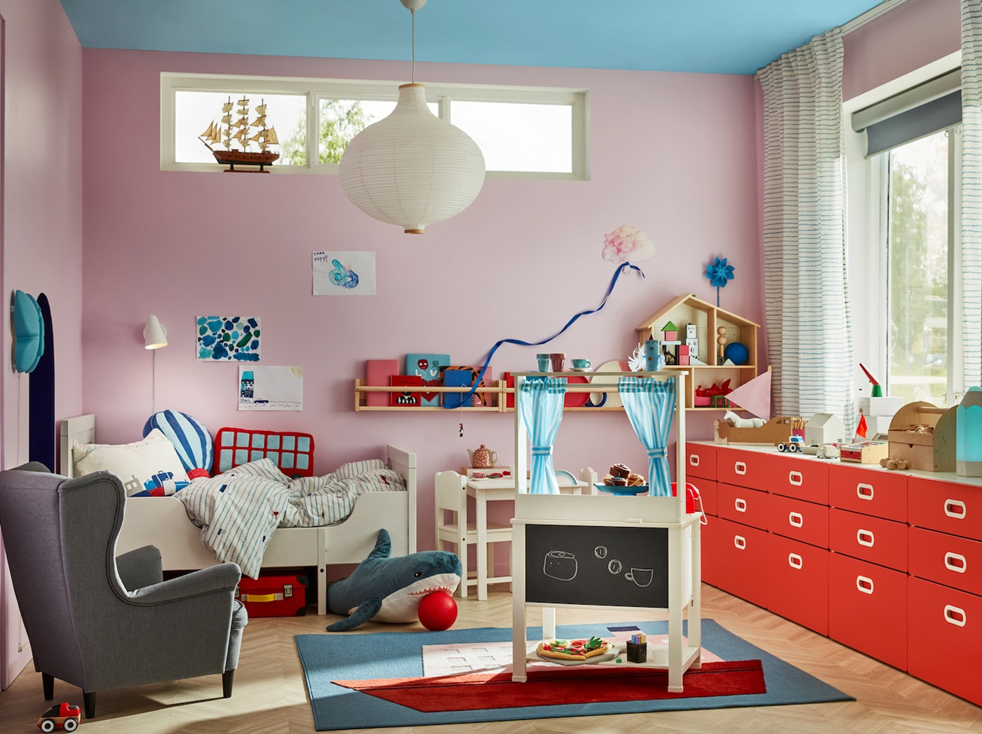 Travel the world in a children's room