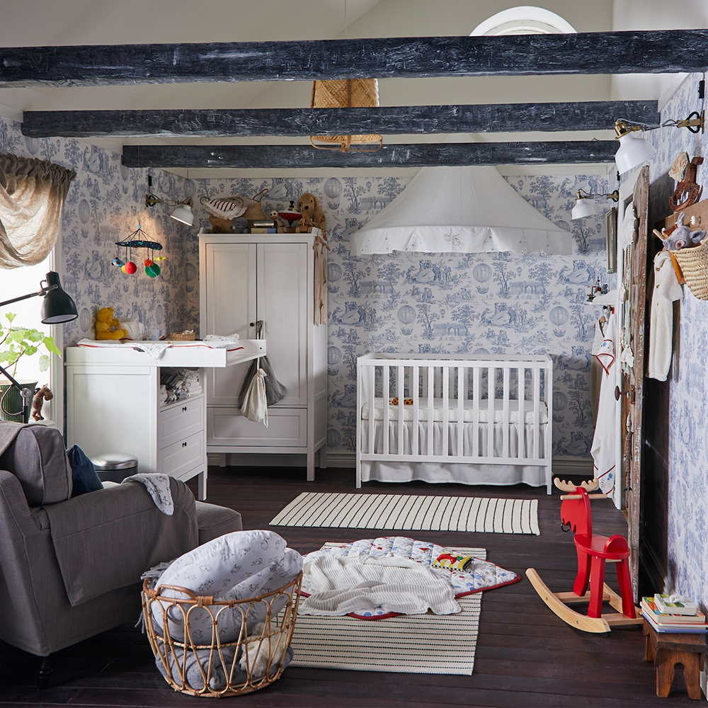 Once upon a time, there was a dreamy children's room