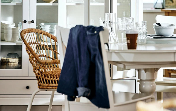 Home 3| Step-by-step: a fresh dining area with farmhouse charm