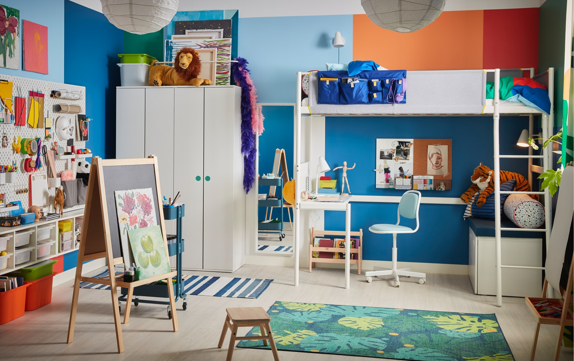 Every little painter's children's room dream