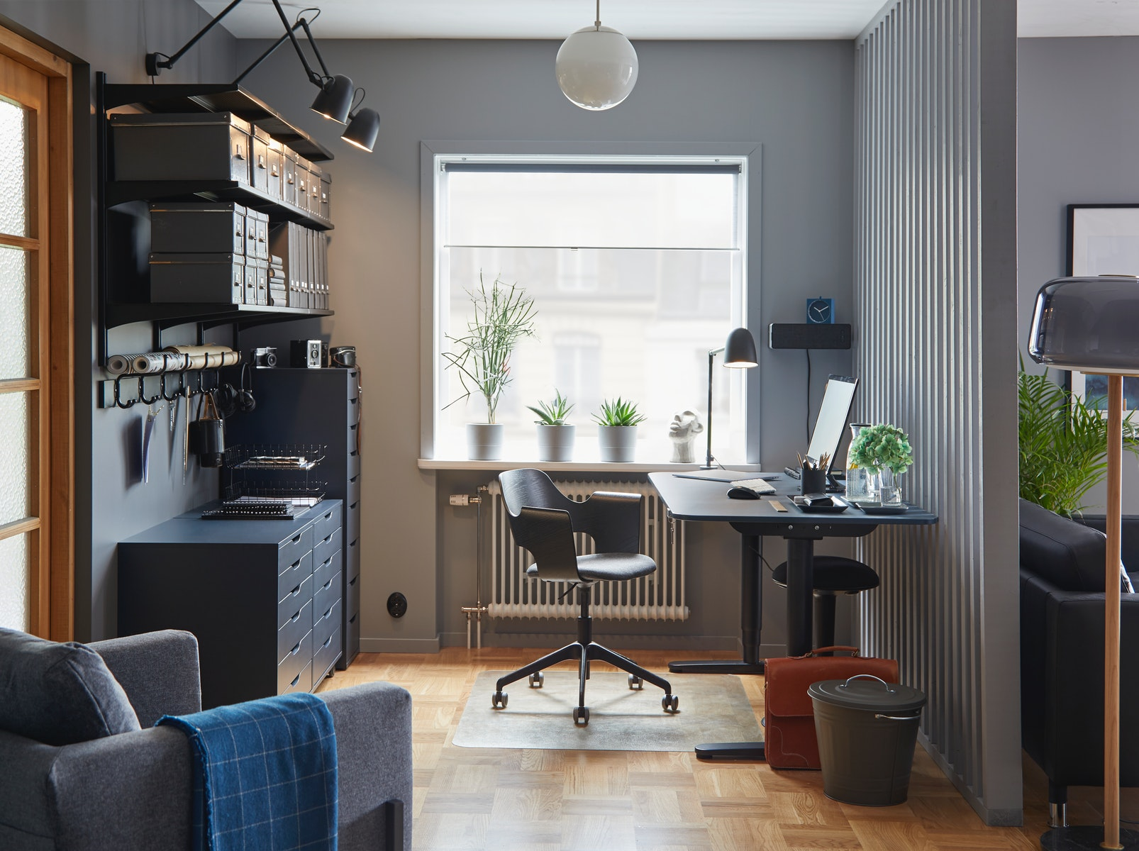 A professional workspace that blends seamlessly with your home