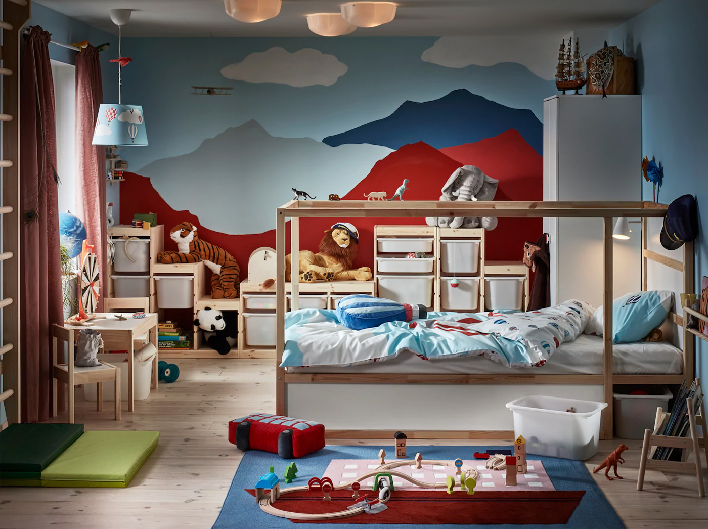 A children's room where imagination never ends