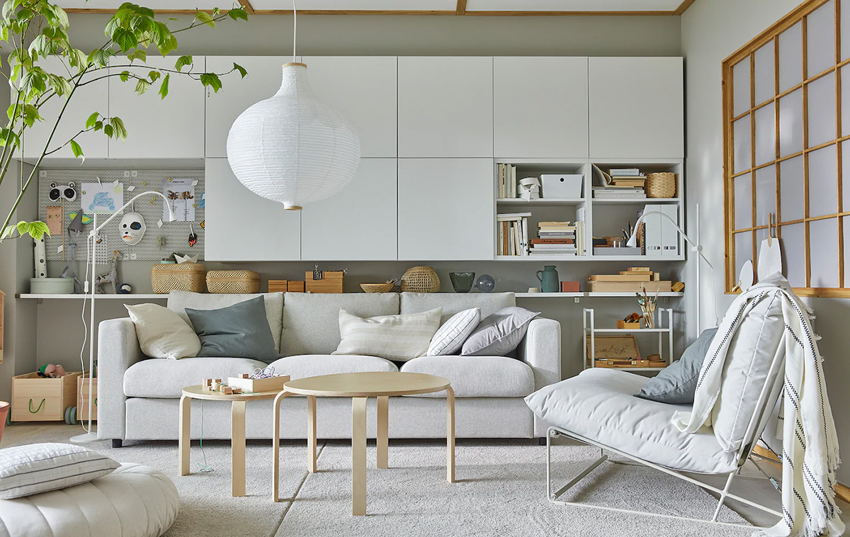Scandinavian, stylish and storage-friendly