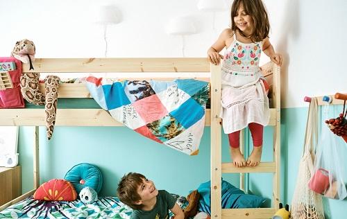 家居巡禮:每個小朋友都愛的共用睡房