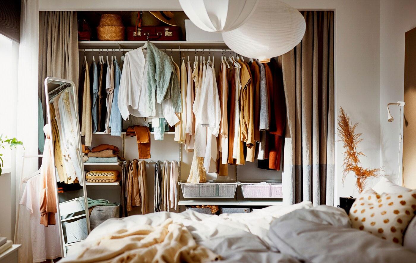 Storing your style: easy wardrobe organisation ideas