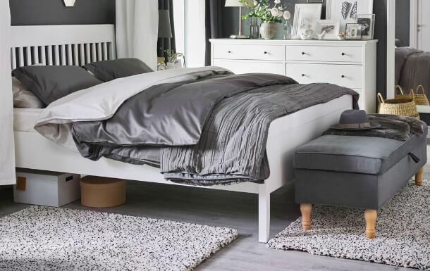 Hidden bedroom storage ideas