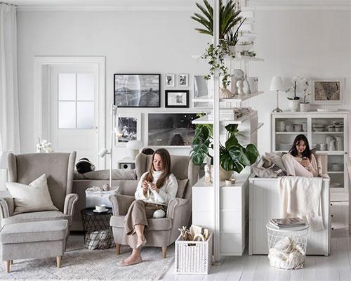 兩用家具變出理想客廳
