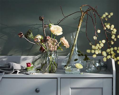 善用資源的花藝裝飾