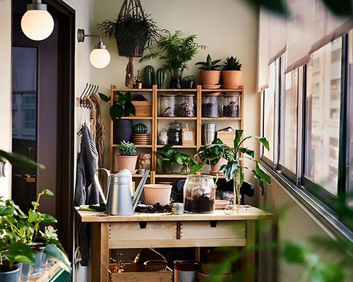 延伸家居空間的露台花園