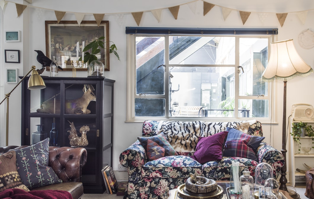Home tour: creative co-living in the city