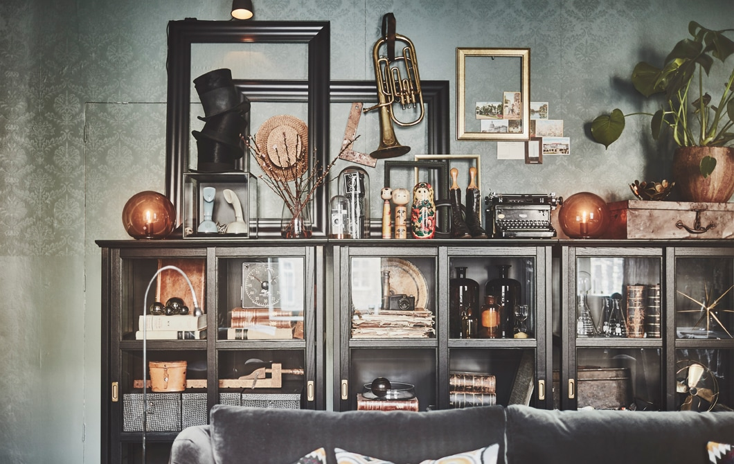 A personal and eclectic home interior