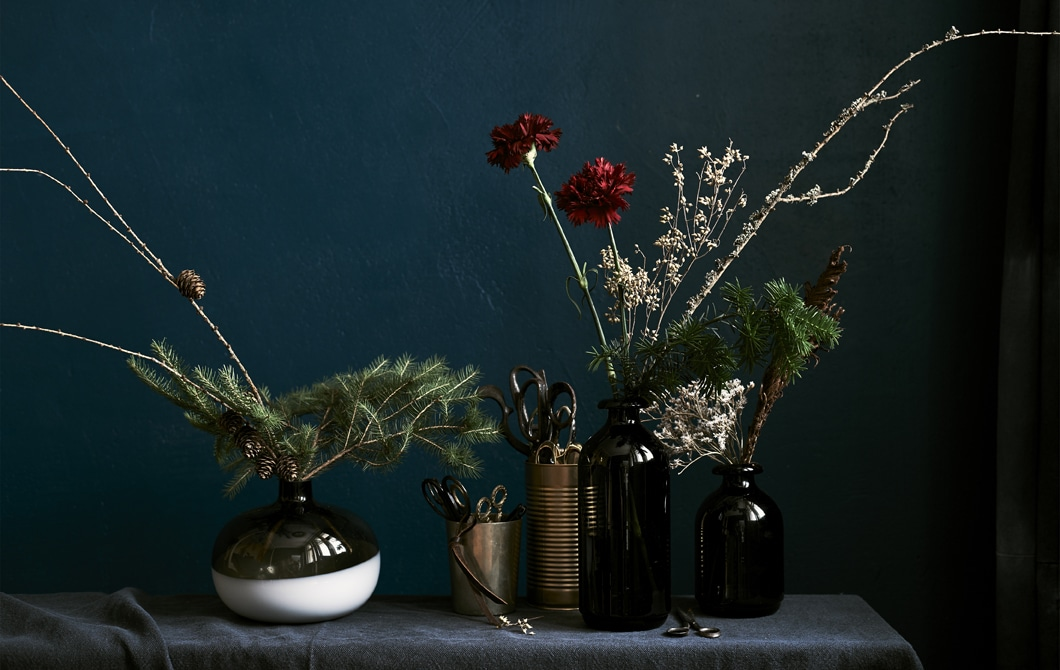 Home visit: expert tips for winter floral displays