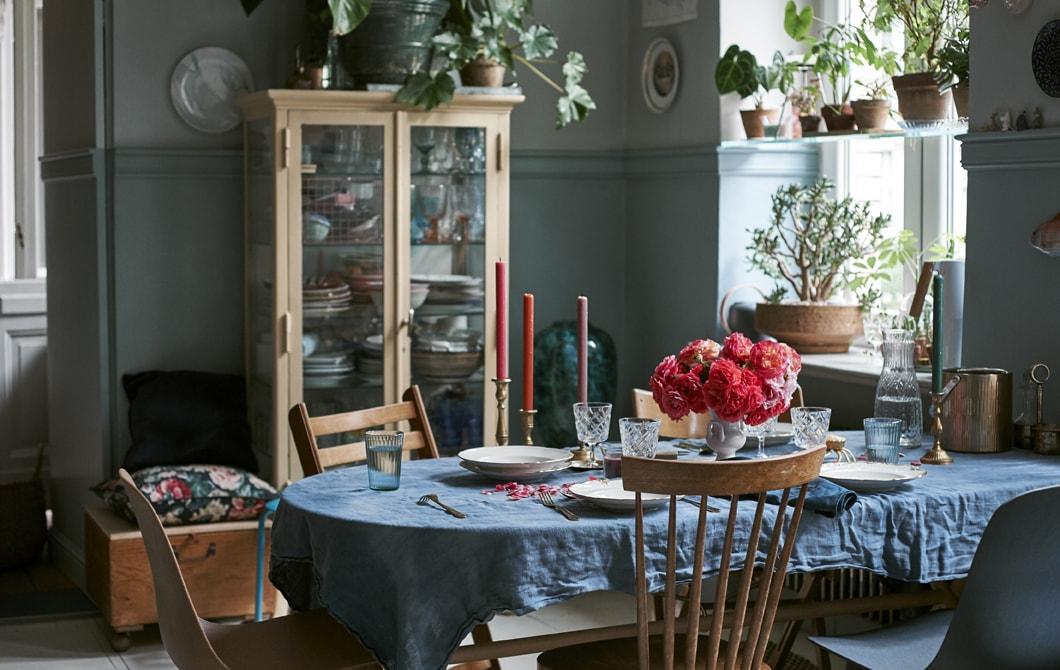 家居巡禮:充滿特色的應節餐檯布置