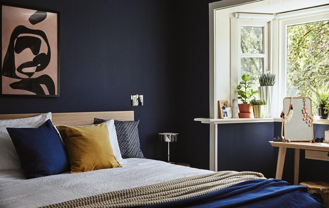 家居巡禮:有條不紊的寫意睡房