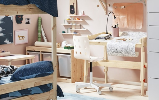 A kid's room to inspire creativity
