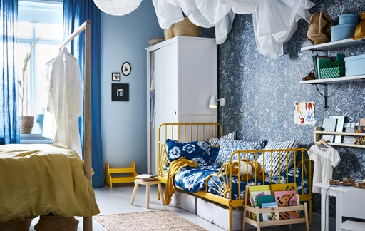 A cosy kid's bedroom within a bedroom