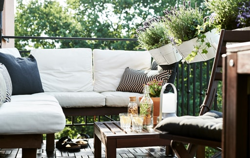 家居巡禮:市區小露台的簡單布置主意