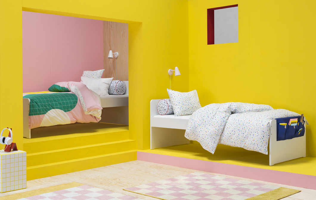 Add colour and personality to a teen bedroom