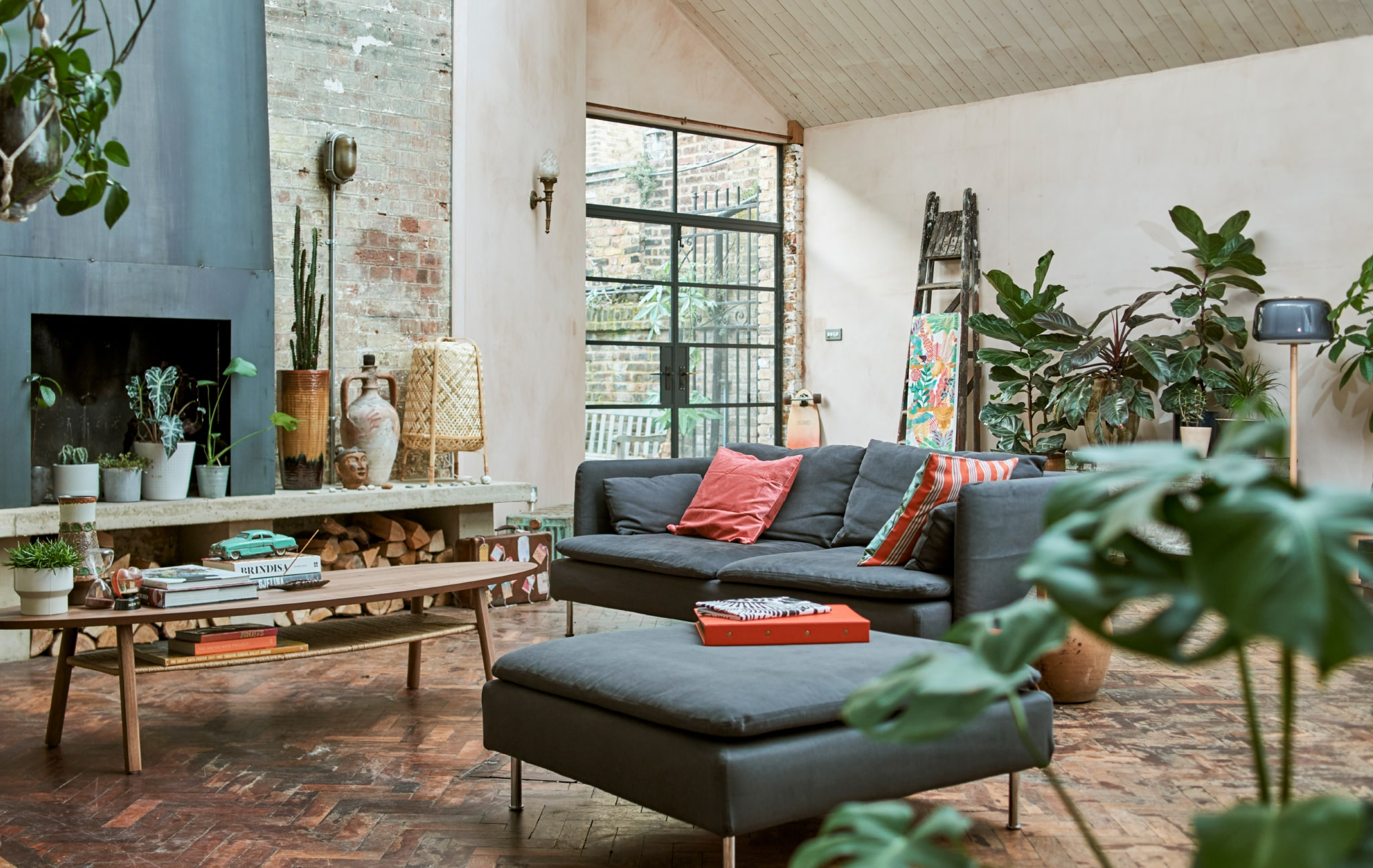 Home visit: a curious collector's happy hideaway